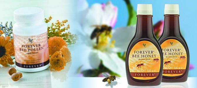 Produkty pszczele: Propolis, Mleczko Pszczele, Miód Forever